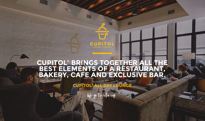 Cupitol Coffee - Best Breakfast, Healthy Food, All Day Bar, Lunch & Dinner